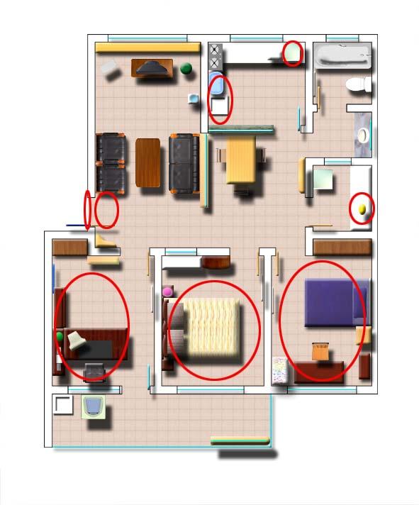 长方形建筑平面图图片 长方形房屋设计平面图,长方形花坛设